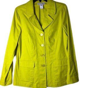 Elliott lime green blazer